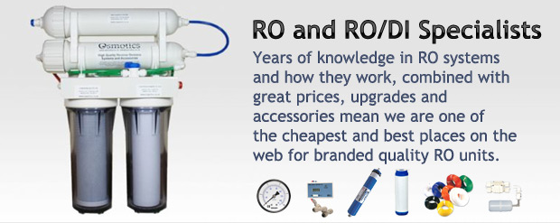 We are Reverse Osmosis and RO/DI specialists