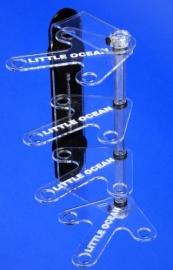 Magnetic 4 Tiered Frag Rack
