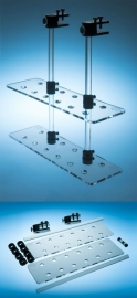 Hanging Double Plate Frag Rack 20 Hole